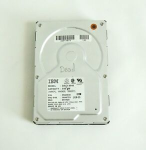 Details about NOT WORKING IBM DALA-3540 85G3840 82G5928 D6162 IDE HARD  DRIVE 540MB MADE IN UK!