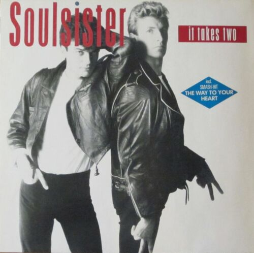 1 von 1 - Soulsister - It Takes Two incl. TOP-Hit: The Way To Your Heart (LP Germany 1988)