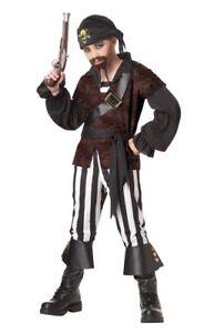 Swashbuckler-Pirate-Buccaneer-Child-Costume-Halloween-Boys-Kids-Dress-Small-6-8