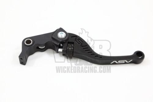 Yamaha R6 2005 06 07 08 09 10 11 12 13 14 15 16 ASV F3 Lever Set Black Short