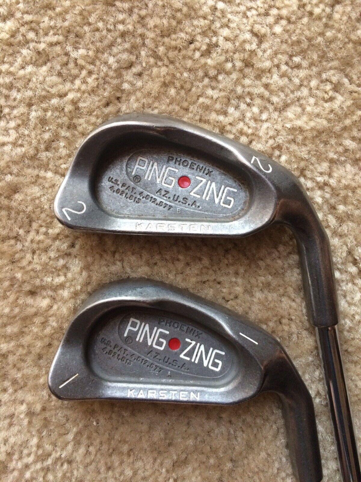 Ping Zing Punto Rojo  1 y 2 de hierro Kt-M Rígido Acero Ejes De Hierro Eje está doblado (2)  selección larga