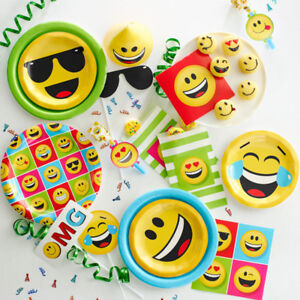 Image Is Loading Bulk Emoji Birthday Party Supplies And Decorations