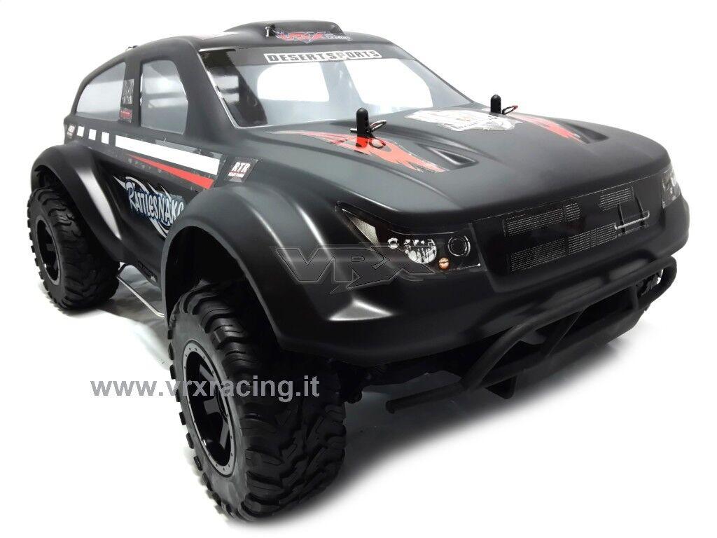 RH1039MC RATTLESNAKE 1/10 SUV OFF-ROAD ELETTRICO DOPPIO TELAIO METALLO