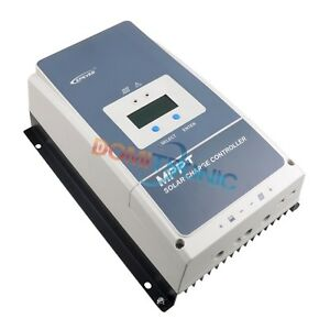 Epever Maximum Power Point Tracking Solar Charge Controller Tracer un 100 A 80 A 60 A 50 A Régulateur 150 V PV