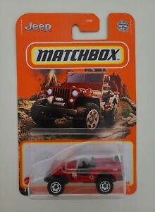 2021 matchbox S case #76 1948 Jeep Willys Jeep