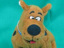 SCOOBY-DOO PUPPY DOG SITTING DOWN MYSTERY SOLVED CURLY TAIL PLUSH STUFFED ANIMAL