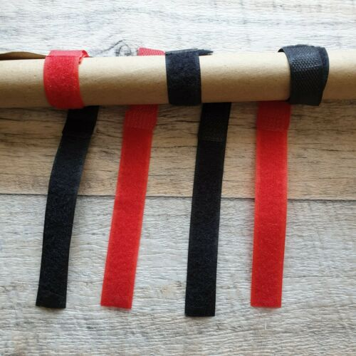 8x 2 Nylon Klettband Angeln Rutenbänder Rutenklettband für Angelruten
