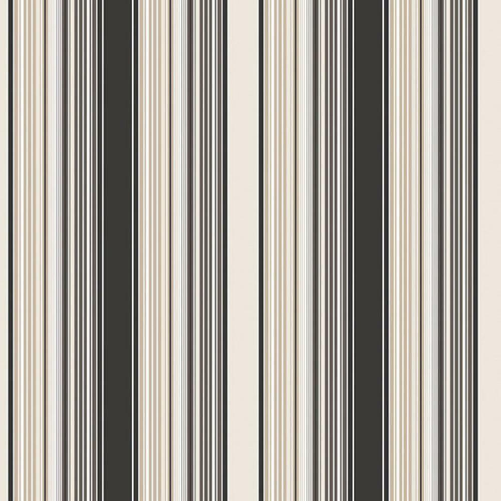SY33917 Galerie Stripes 2 Grey White Wide Stripe Wallpaper