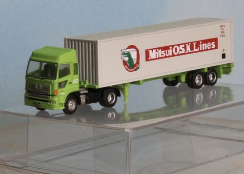 Tomytec TC0706 LKW mit 40´Container Mitsui O.S.K,Lines, Spur N
