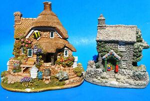 Lilliput-Lane-Casa-Lote-1993-Rydal-Cottage-2000-2001-pequenos-Bumble-Bee-En-Miniatura