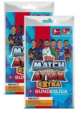 Topps Match Attax 2019//2020  Blister  inkl Limitierte Auflage 19//20