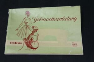 Age-Print-Instruction-Manual-Sewing-Machine-Textima-Old-Vintage-Advertising