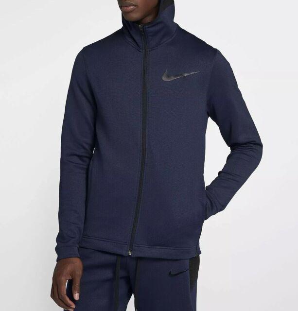 Nike Therma Flex Showtime Herren Voller Reißverschluss Basketball Hoodie 925604 419 Größe XXL