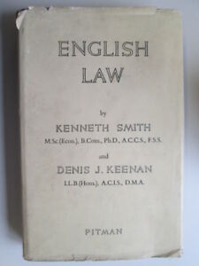 Good-English-Law-Smith-Kenneth-Keenan-Denis-J-1965-01-01-Previous-owner-039