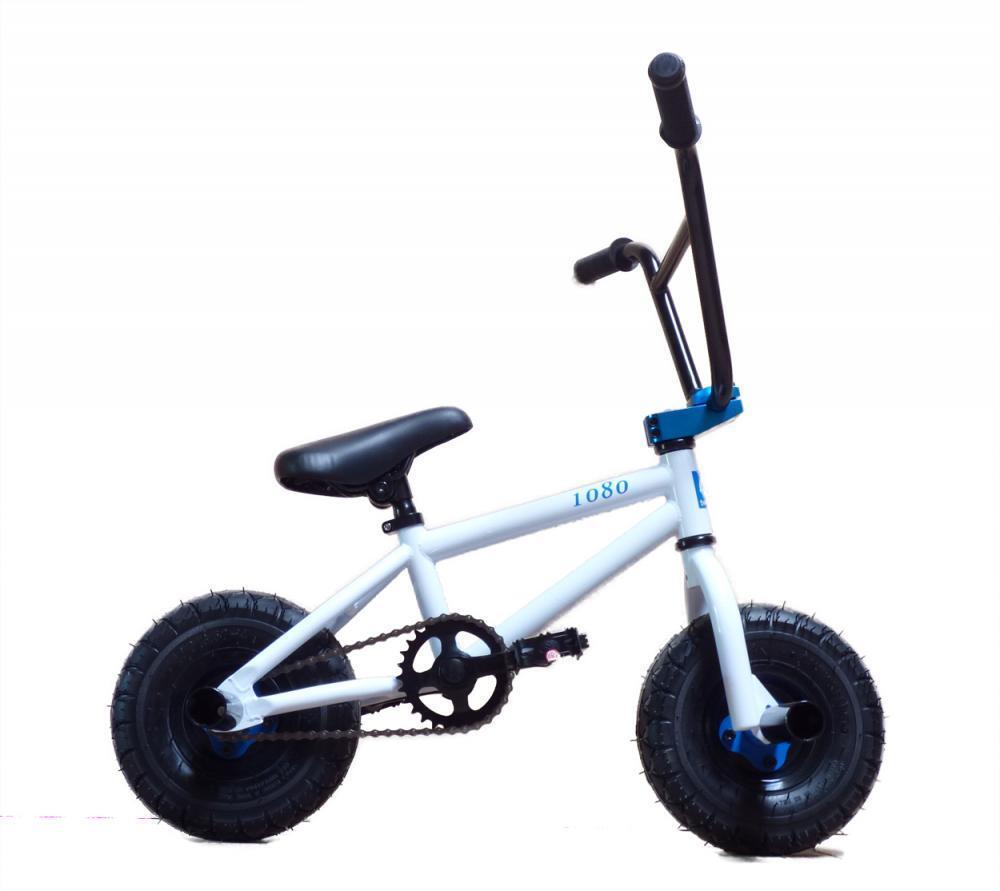 New Limited Edition 1080 Kids Stunt Freestyle Mini BMX Bike blancoo & azul
