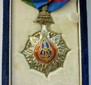 Orden, Komturkreuz, der Sehr Ehrenwerte Orden der Krone von Thailand  (Art.5036)