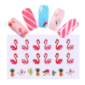 Nail-Water-Decals-Manicure-Pattern-Nail-Art-Transfer-Stickers-Decor-DIY