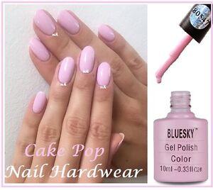 Bluesky Cake Pop Pastel Pink Summer Splash 80547 Uv Gel Nail Polish