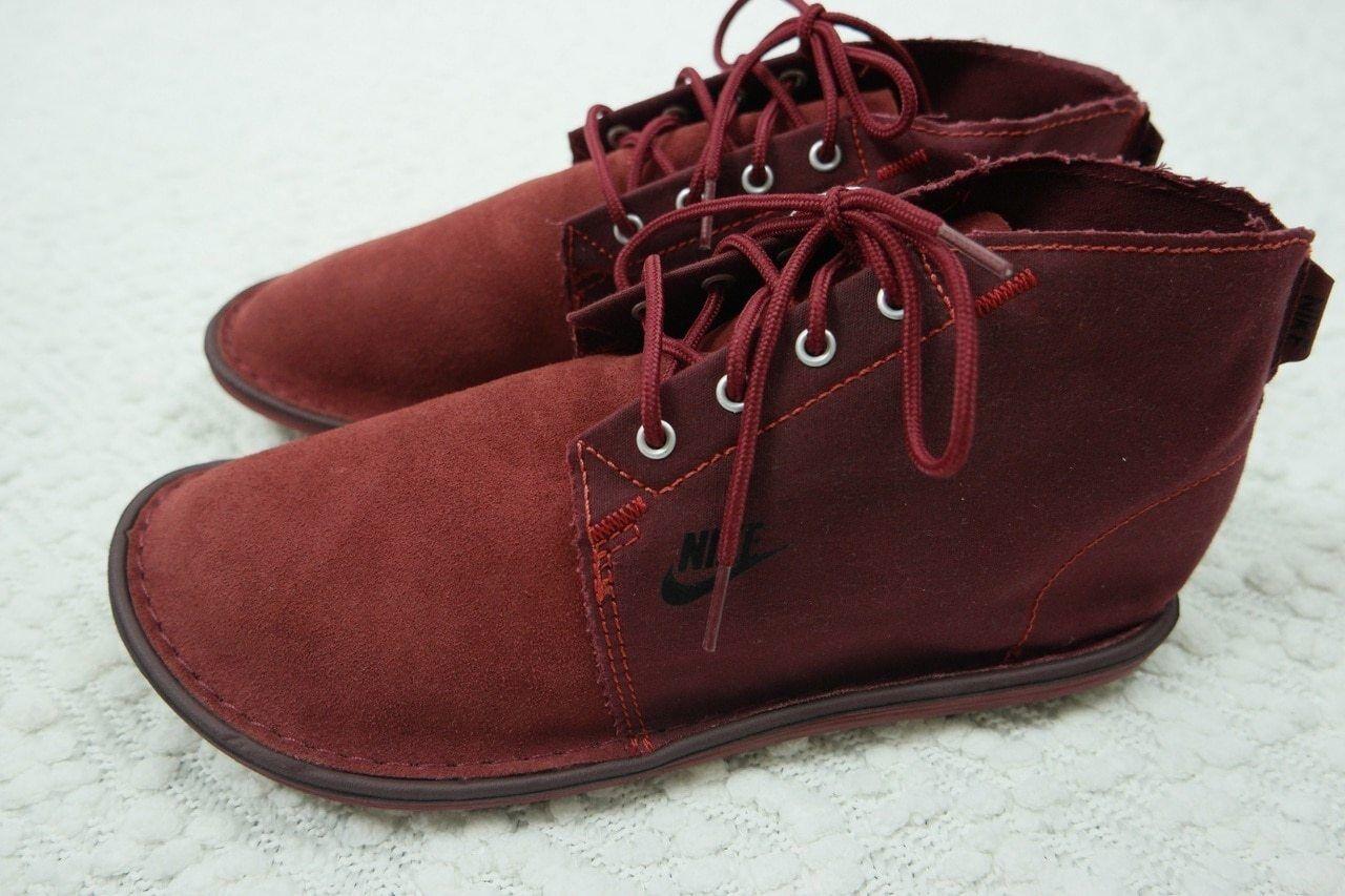 NIKE maroon burgundy rosso solarsoft chukka jp moccasin scarpe scarpe scarpe da ginnastica Dimensione 11 BNIB 945dbe