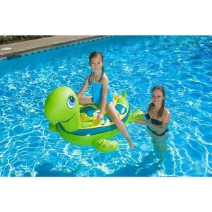 Details about Poolmaster 81700 Turtle Rider Inflatable Water and Swimming  Pool Toys Float