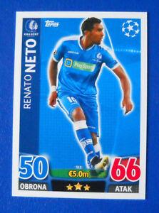 CARD MATCH ATTAX CHAMPIONS LEAGUE 2015/16 - N.315 - NETO - KAA GENT - POL - Italia - L'oggetto può essere restituito - Italia