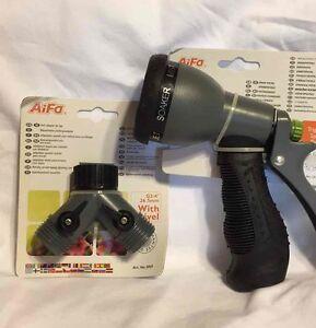 garden hose nozzle water sprayer with spray patterns - Best Garden Hose Nozzle