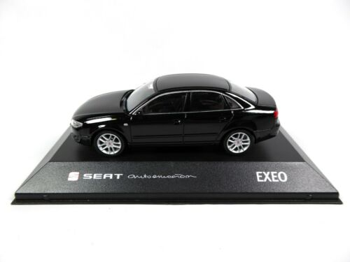 Seat Exeo Sedan Magic Black 1//43 Fischer Voiture Miniature Diecast SE23