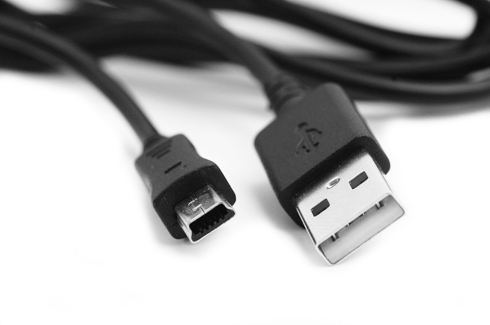 Charger Power Black Cable for Garmin Edge 810 Bike Computer 2m USB Data