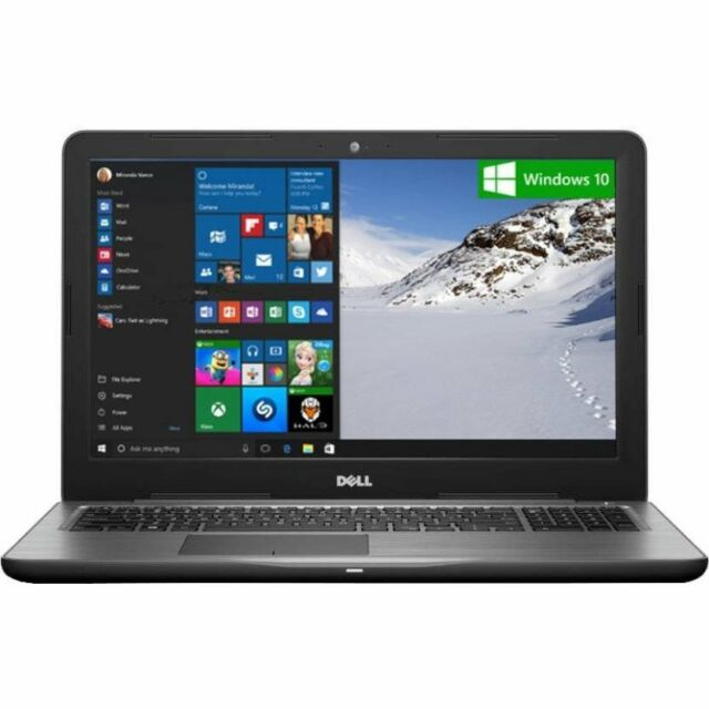 New Dell Inspiron 5567 15.6-inch Laptop Core i5 Gen 7/8GB/1TB/Windows 10