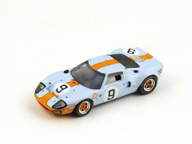 Spark Model 1 43 43LM68 Ford GT40  Gulf   9 Winner Le Mans 1968 NEW