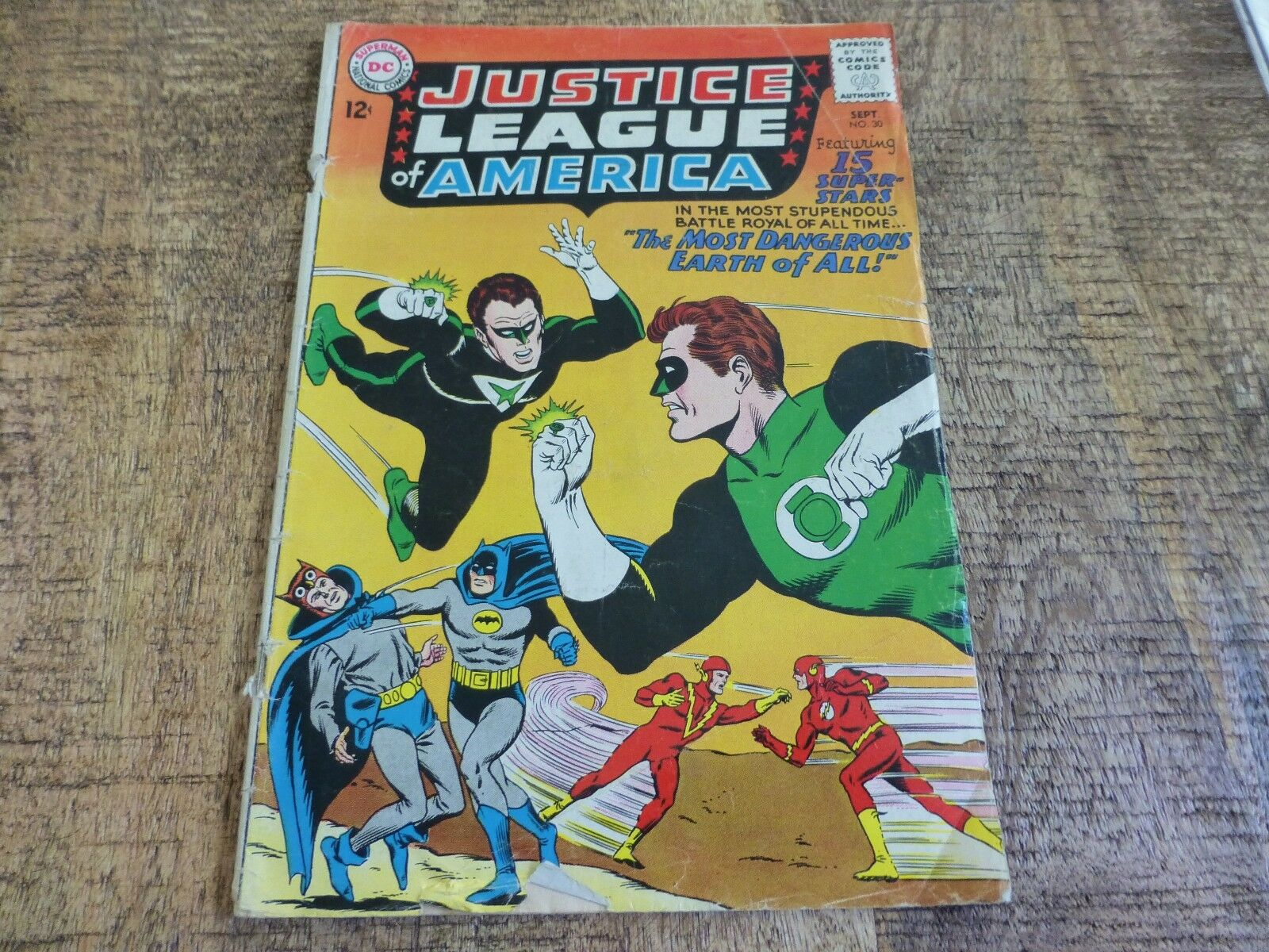 Justice League Of America 30 Sep 1964 Dc For Sale Online Ebay
