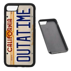 Outatime-License-Plate-RUBBER-phone-case-Fits-iPhone