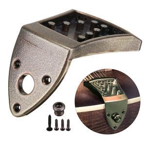 Bronze-8-String-Mandolin-Tailpiece-Rectangle-Guitar-Instrument-Accessories-Parts