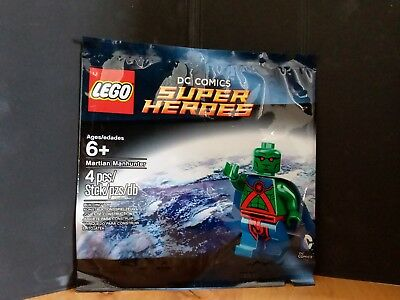 Lego 5002126 DC Super Heroes Martian Manhunter Polybag Brand New Factory Sealed!