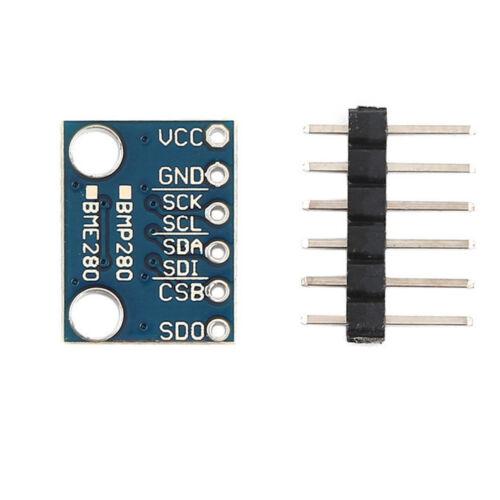 Blue Digital Barometric Pressure Sensor Board BME280 I2C//SPI BMP280 3.3V AIP