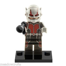 ANT-Man Mini Figuras vendedor del Reino Unido se ajusta Lego Antman Ant Man