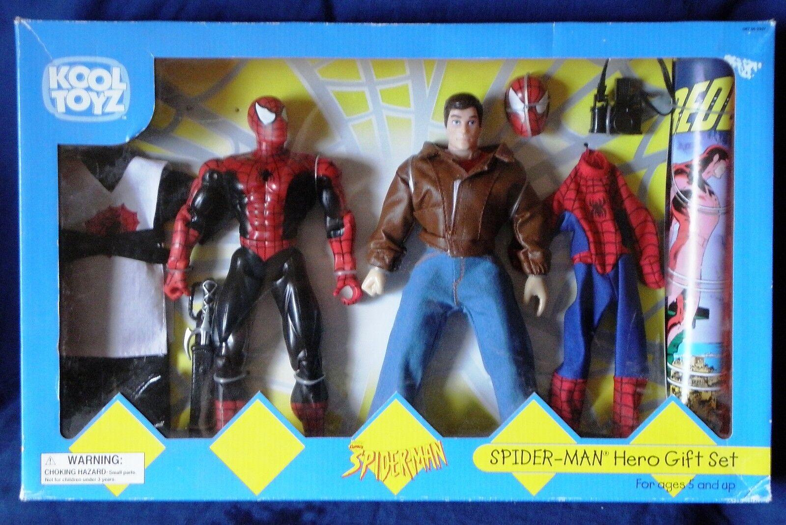 Kool toyz  spider - man  - held geschenkset mit comic