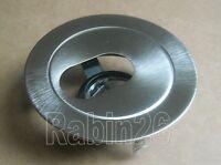 4 Recessed Light Can Trim Adjustable Aperture Slot Mr16 12v Silver Satin Nickel