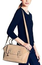 Kate Spade Raquelle Allen Street Satchel Goat Leather CRUISER TAN bag $398.00