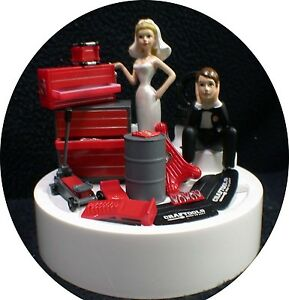 Image Is Loading Car Auto Mechanic Wedding Cake Topper Key Bride