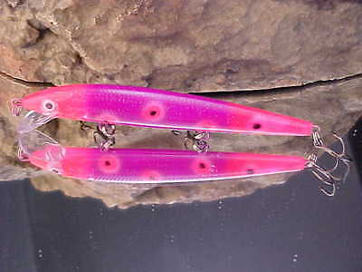 Rapala® Husky Jerk HJ12-2083 UV Custom-Painted WARRIOR LURES for WALLEYE//SALMON