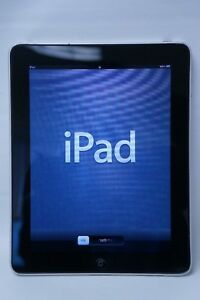 Apple iPad 1st Gen, 32GB, Wi-Fi, 9.7in - A1219 (MB293LL) - Black/Silver