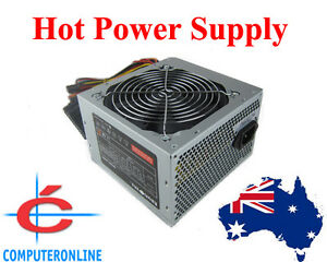 Power Supply Unit PSU Model 24PIN ATX SATA 12cm fan Intel AMD ...