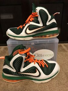 b1fc907fd607 Image is loading Lebron-9-Miami-Size-11-USED