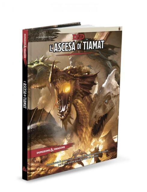 Dungeons & Dragons - 5a Edizione - La Tirannia Dei Draghi - L'Ascesa di Tiamat W