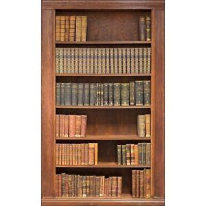 Wandsticker-Schein-Auge-Bibliothek-Bibliothek