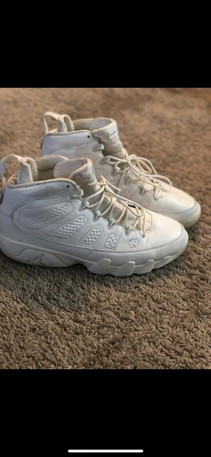 3804726d4712eb Man s Woman s Jordan 9 Silver Silver Silver Anniversary Modern technology  Won highly appreciated and widely