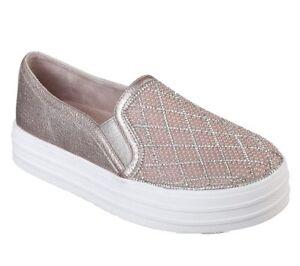 Memoria Original De Doble Detalles Acerca Up Diamante Mostrar Bailarina 757 Joya Título Zapatillas Zapatos Para Skechers Mujer Espuma wOPk0n