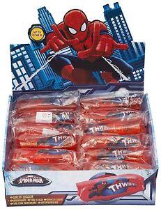 2 x spiderman eau ondulateur paillettes jouet de bain amusant squeeze glissant cadeau wiggle  </span>