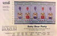 Creative Keepsakes Smocking Plate- Baby Bear Party